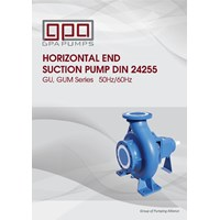 GPA GU series centrifugal pumps
