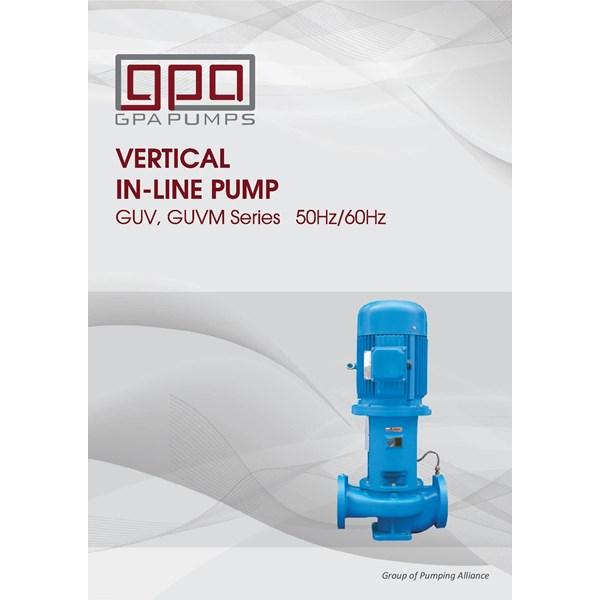 Pompa Centrifugal  vertikal GPA GUV series