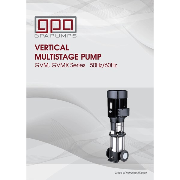 vertical pump GPA GVM series