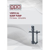 Vertical Centrifugal Pump Sump GPA PVS series