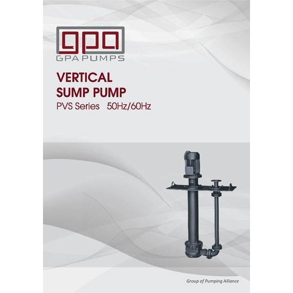 Pompa centrifugal vertikal sump GPA PVS series