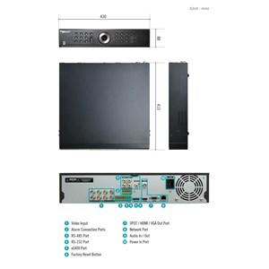 Dari Dvr Cctv Idis Tr-4308 Directcx 8Channel Recorder 1