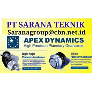 APEX PT SARANA TEKNIK HIGH PRECISION APEX DYNAMICS