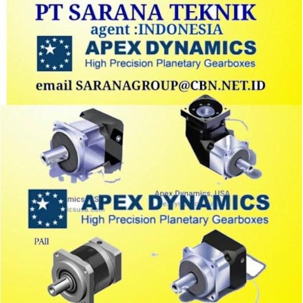 pt sarana teknik Apex Dynamics Gearboxes motor
