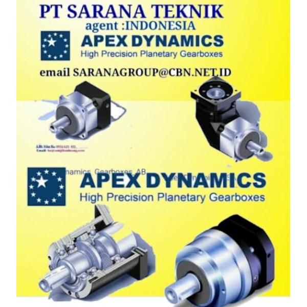 Planetary Gearbox PT SARANA TEKNIK AGENT APEX DYNAMICS