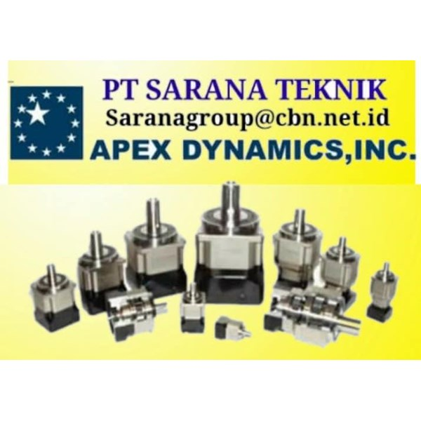 AGENT APEX Precision Planetary Gear PT SARANA TEKNIK