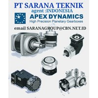 APEX DYNAMICS GEARMOTOR REDUCER GEARBOX PT SARANA TEKNIK motorS