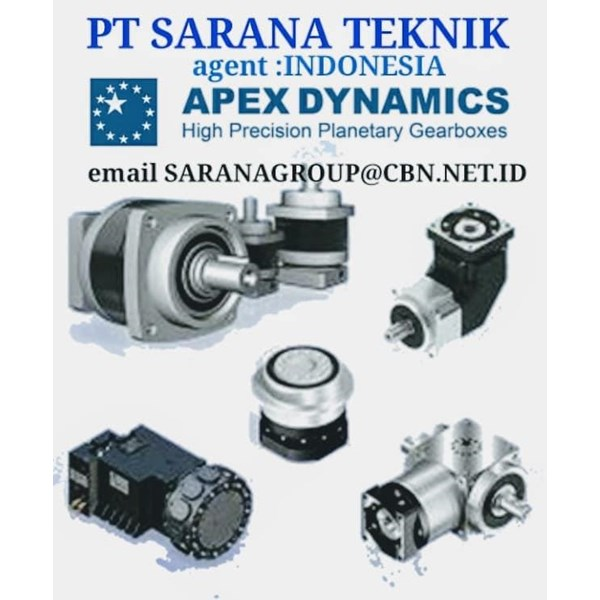 APEX DYNAMICS GEARMOTOR REDUCER GEARBOX