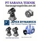 APEX DYNAMICS  GEARBOX PT SARANA TEKNIK  1