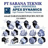 APEX DYNAMICS PT SARANA TEKNIK gearhead DISTRIBUTOR motor