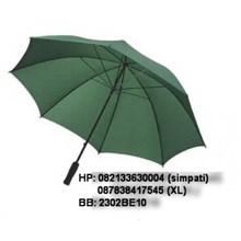 Umbrella golf rangka fibers