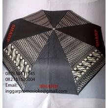 Umbrella golf motifs