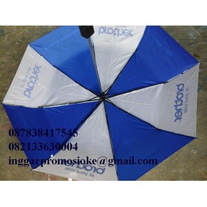 Sablon payung lipat dua