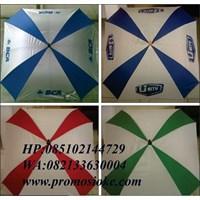 Payung golf kotak warna