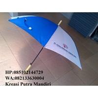Payung standart gagang kayu