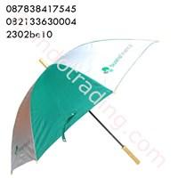 Payung Standart Tongkat Bahan Selang Seling