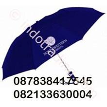 Payung Lipat 2 Rangka Putih