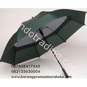 Payung Golf Rangka Fiber Kanopi Susun Tampak Dalam