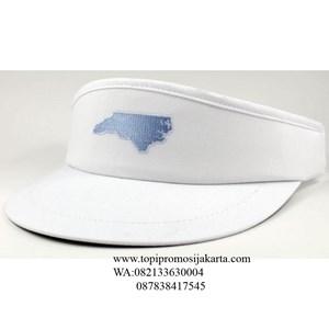Topi golf promosi warna putih