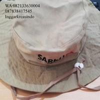 Topi rimba promosi bahan rafel 1