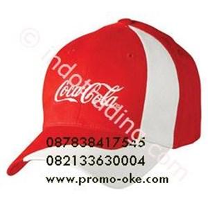 Topi Promosi Bahan Rafel Cetak Bordir
