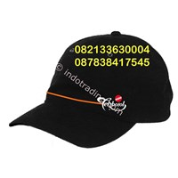 Topi Hitam Rafel Promosi 1