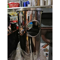 stainless steel trash can 1
