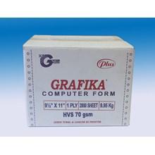 Kertas Komputer Grafika Kecil 1 Ply HVS