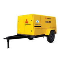 Portable Screw Air Compressor LGY - 10.5/7