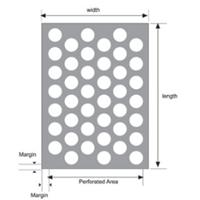 Jual Perforated Mesh Standard Pattern