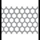 Hexagonal Perfotation Staggered