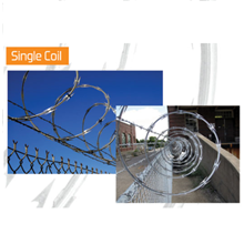Razor Wire Single Coil