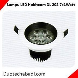 Lampu LED Hokitcom Type LED Downlight Series DL - 202 - 7x1Watt