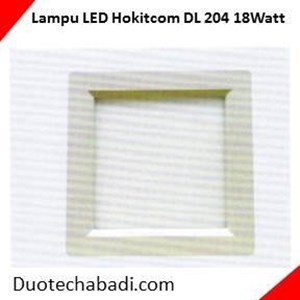 Lampu LED Hokitcom Type LED Panel Lamp Series DL - 204 - 18Watt