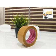 OPP Tape - 48mm x 90y Brown Tape