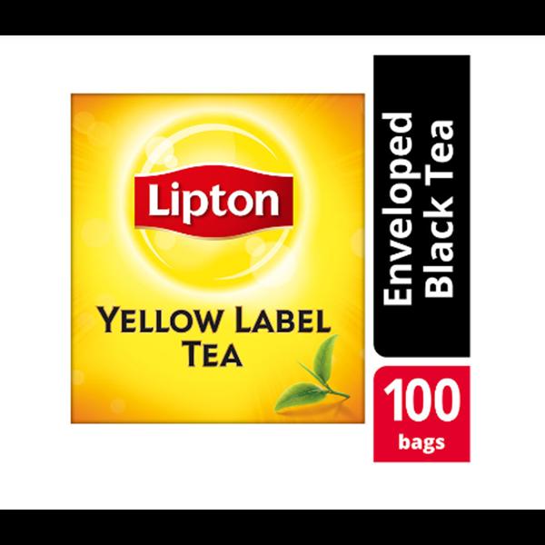 Teh Lipton Yellow Label Enveloped