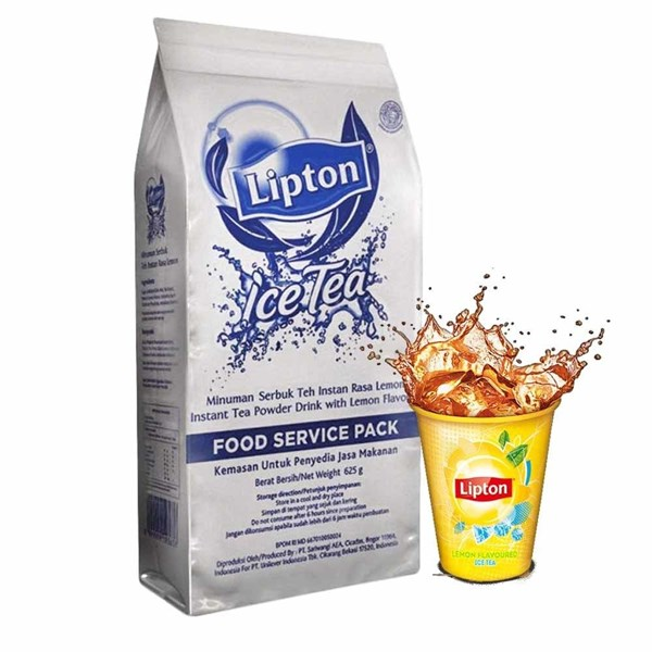 Teh Lipton Ice Tea Mix Lemon