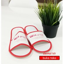 3mm White Hotel Slippers
