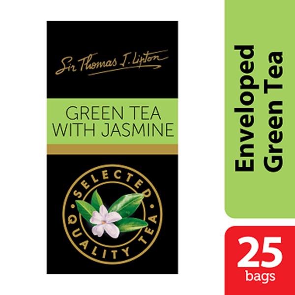 Teh Lipton Green Tea With Jasmine