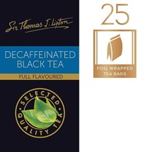 Teh Lipton Decaffeinated Black Tea