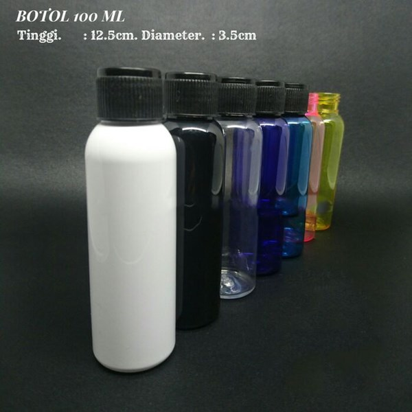 Botol PET 100ml Tutup Uril Biasa