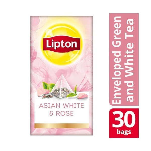 Teh Lipton Asian White & Rose