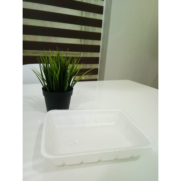 Tray Foam KGP 03 - Styrofoam Pembungkus Buah, Sayur, Daging & Ikan