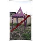 Tenda Kerucut 2 X 2 Meter 2