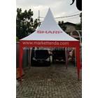 Tenda Kerucut 3 X 3 Meter 9