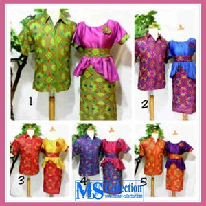 Sarimbit Dress Kombinasi Velvet [ B-Grb-27 ]