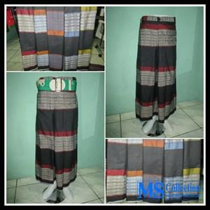 Celana Sarung Al-Jordan [ Hitam Motif ]