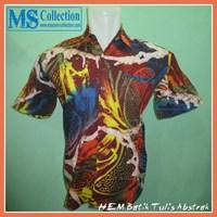 HEM Batik Tulis Abstrak [ GERRY-014 ]