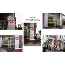 Sticker Printing & Cutting Zip Mart Gedung Basko Group