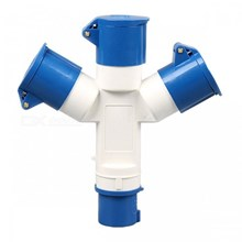 Industrial plug & socket (3 Cabang)